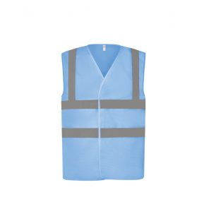 GILET HV MAILLE AJOUREE RECYCLEE