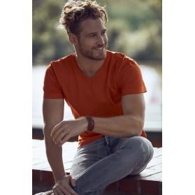 T-shirt basic col V - Lavage 60°