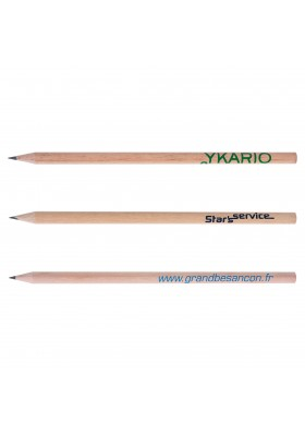 Crayon de papier Eco 17.6 Tête gomme - Fab. France