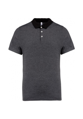 POLO JERSEY HOMME BICOLOR