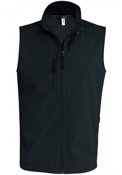 BODYWARMER SOFTSHELL HOMME 3 COUCHES