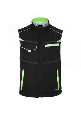 BODYWARMER SOFTSHELL MATELASSEE WORKWEAR LEVEL 2