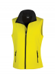 GILET SOFTSHELL FEMME 2 COUCHES