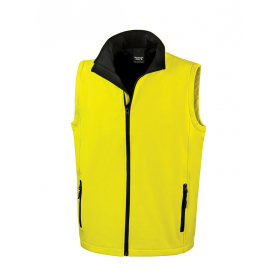GILET SOFTSHELL HOMME 2 COUCHES