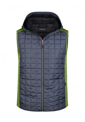 GILET TRICOT HYBRIDE HOMME