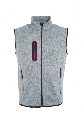 GILET POLAIRE TRICOTEE HOMME