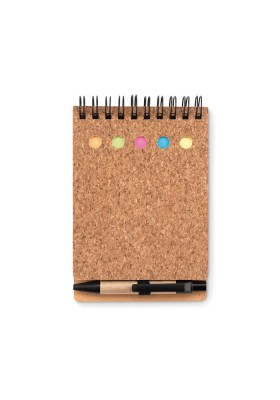CARNET LIEGE NOTES ADHESIVES - MULTICORK
