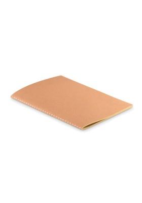CARNET A5 COUV EN CARTON -MID PAPER BOOK