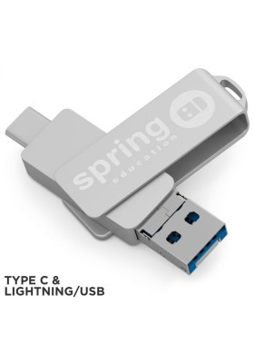 CLE USB SWIVEL STEEL OTG