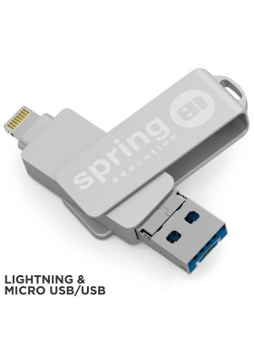 CLE USB SWIVEL STEEL OTG LM