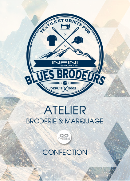BROCHURE BLUES BRODEURS